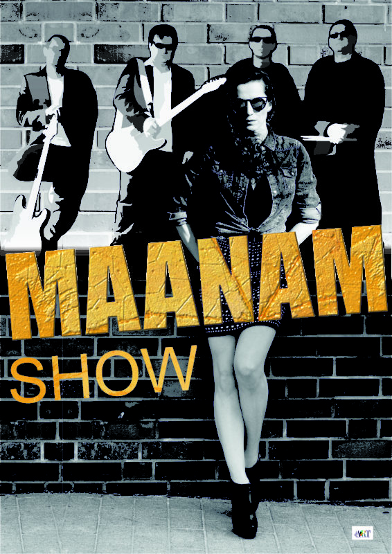 Maanam Show Plakat New Theart Agencja Artystyczna