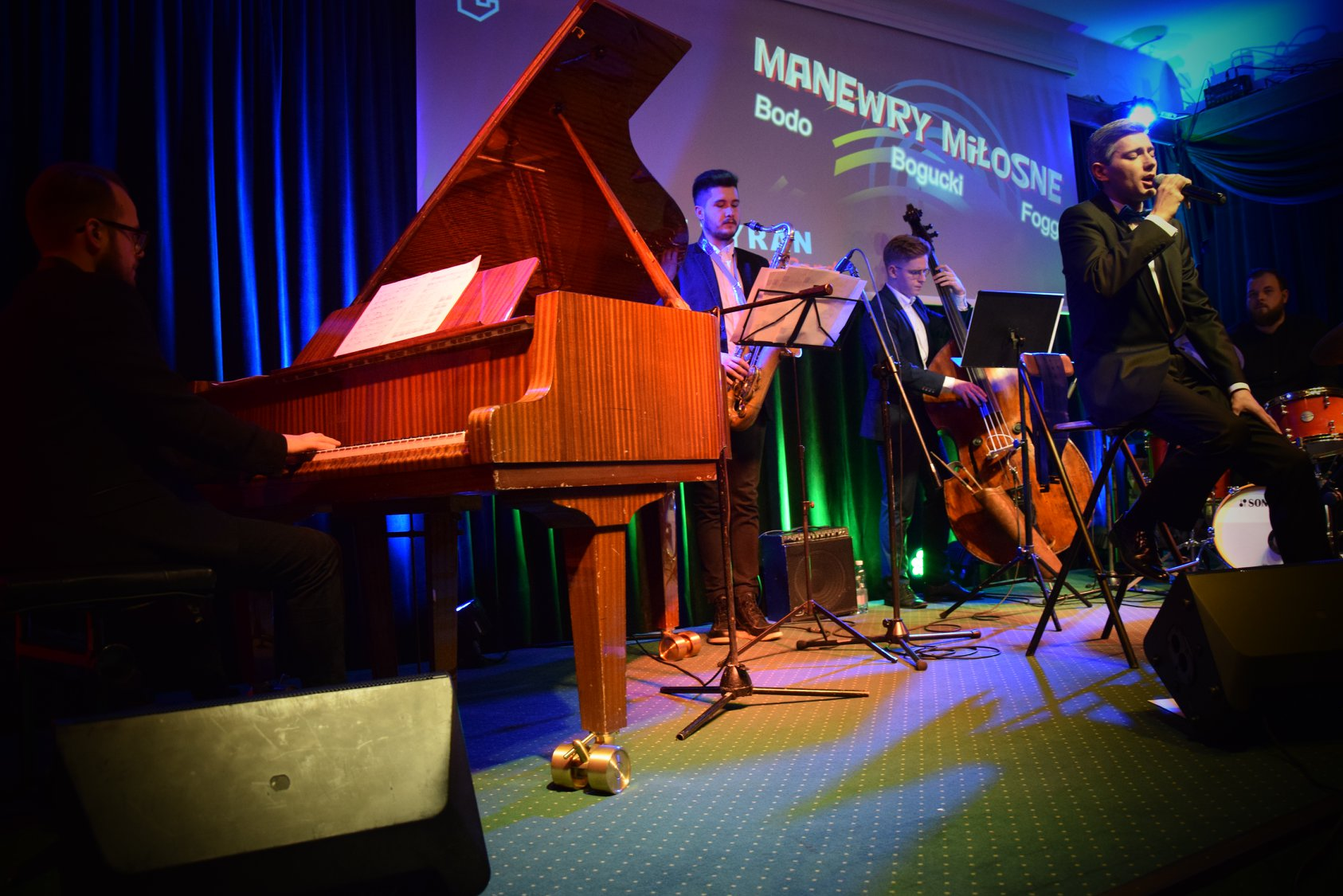 theART Agencja Artystyczna recital koncert Bodo Fogg