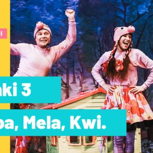 Świnki 3 – Pepa, Mela, Kwi – online