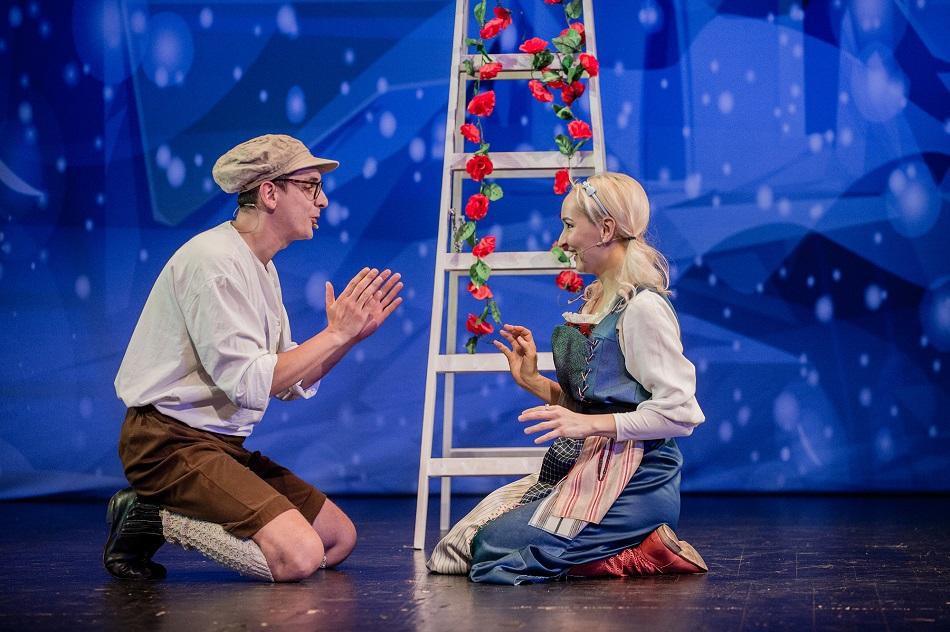 Śnieżna Królowa – opowieść zimowa Królowa Śniegu bajka muzyczna Beata Marczewska spektakl online 3